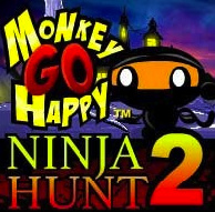 Monkey Go Happy Ninja Hunt 2